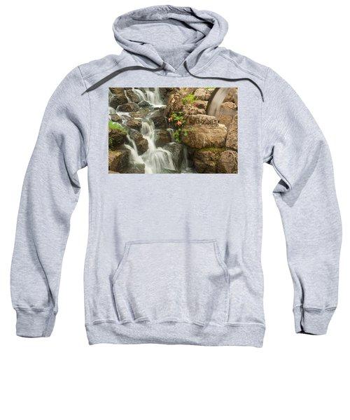 Mill Wheel With Waterfall Sweatshirt