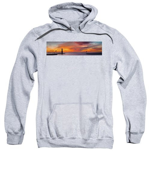 Sweatshirt featuring the photograph Mine Eyes Have Seen The Glory by Bill Pevlor