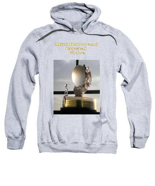 Mini Robot And Crystal Globe Sweatshirt