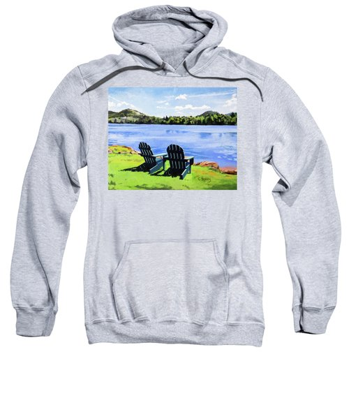 Mirror Lake Lake Placid New York Sweatshirt