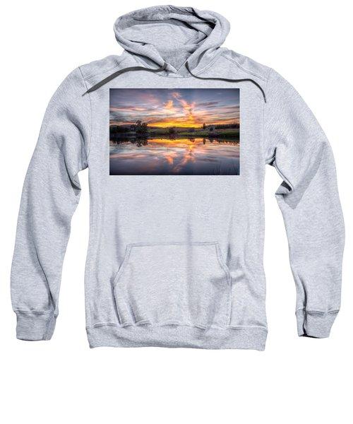 Mirror Lake Sunset Sweatshirt