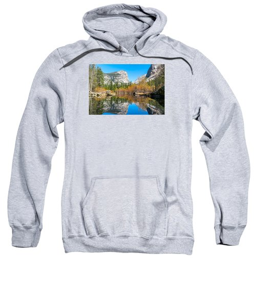 Mirror Lake Yosemite Np Sweatshirt