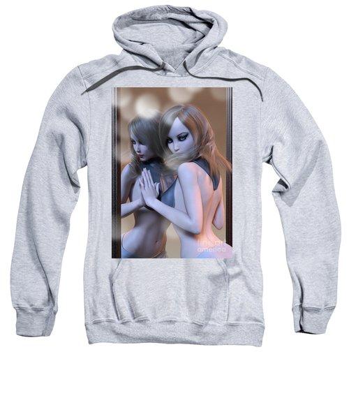 Mirrored Gaze Sweatshirt