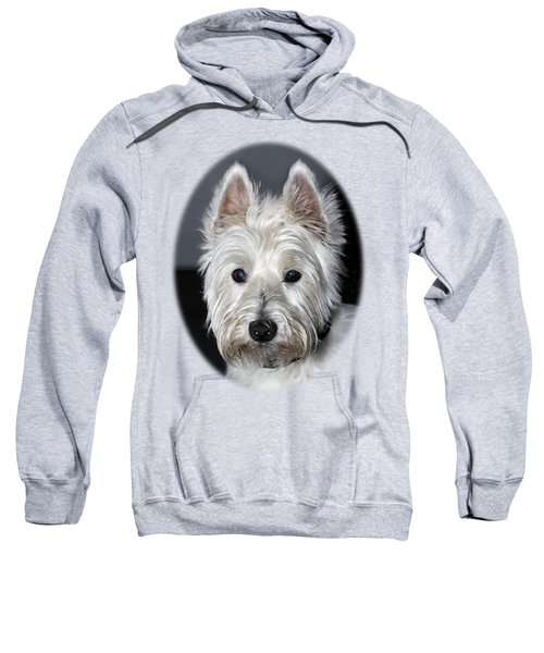 Mischievous Westie Dog Sweatshirt