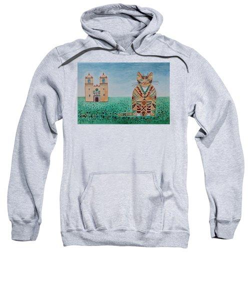Mission Concepcion Cat Sweatshirt