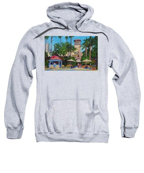 Mission Inn On A Sunny Day Sweatshirt