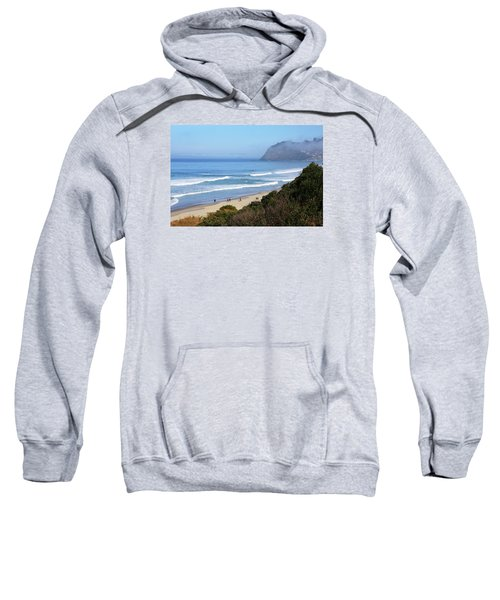 Misty Beach Morning Sweatshirt