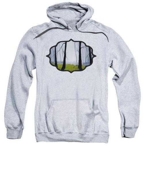 Misty Forest Sweatshirt by Anastasiya Malakhova
