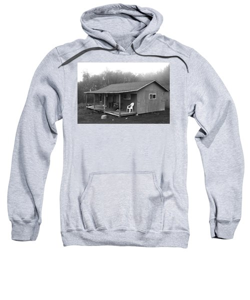 Misty Morning At The Cabin Sweatshirt