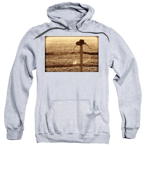 Misty Morning At The Ranch Sweatshirt