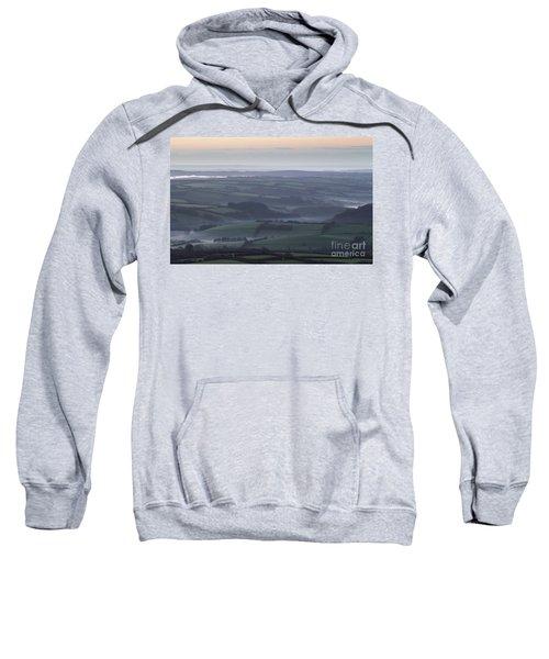 Misty Morning On Exmoor  Sweatshirt