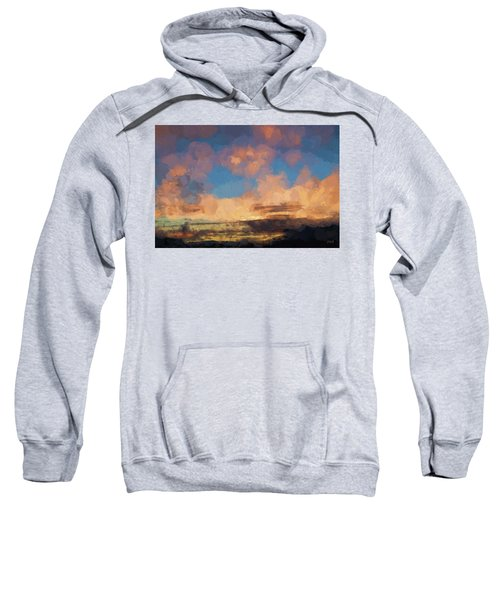 Moab Sunrise Abstract Painterly Sweatshirt