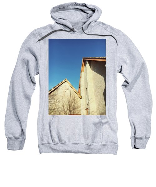 Modern Church Exterior Sweatshirt