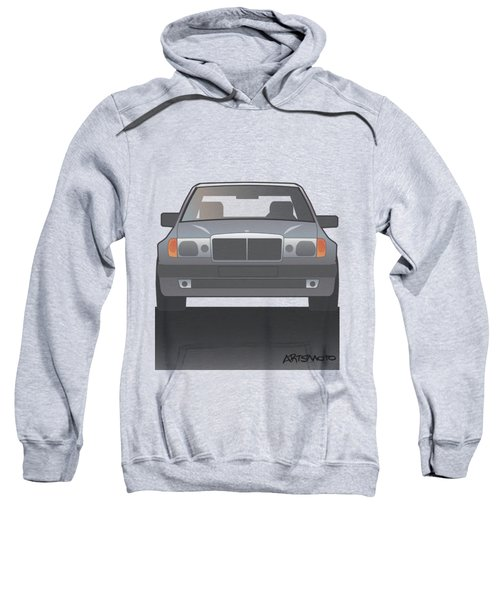 Modern Euro Icons Series Mercedes Benz W124 500e Sweatshirt