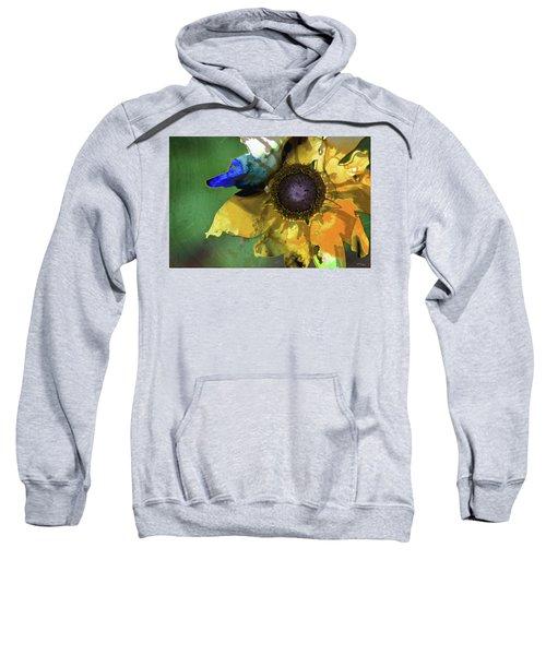 Modern Floral Art - Untamed Beauty - Sharon Cummings Sweatshirt
