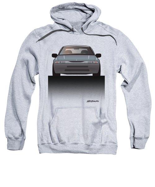 Modern Japanese Icons Subaru Alcyone Svx Split Sweatshirt