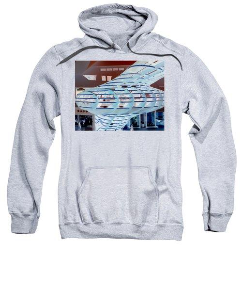 Ghostly Shopping Mall Sweatshirt
