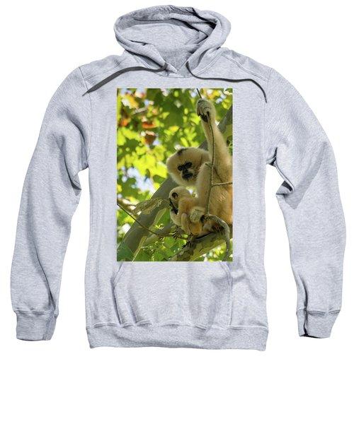 Mommy Gibbon Sweatshirt