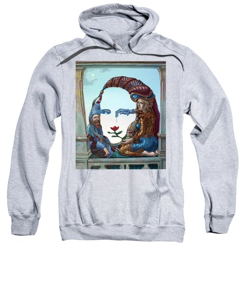 Mona Lisa. Love Sweatshirt