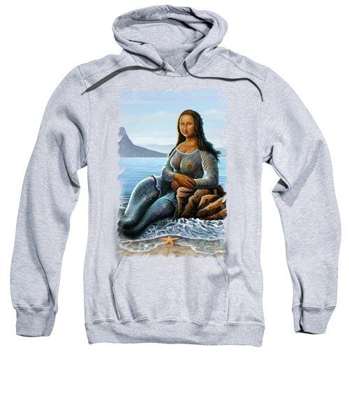 Monalisa Mermaid Sweatshirt