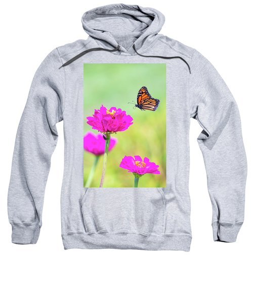 Monarch In Flight 1 Sweatshirt