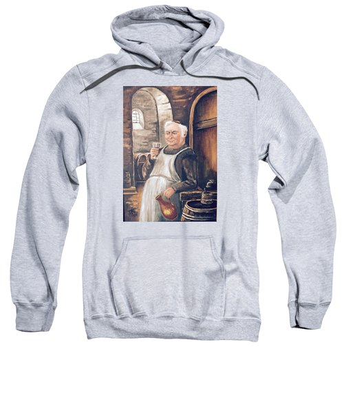 Monk With Wine Sweatshirt