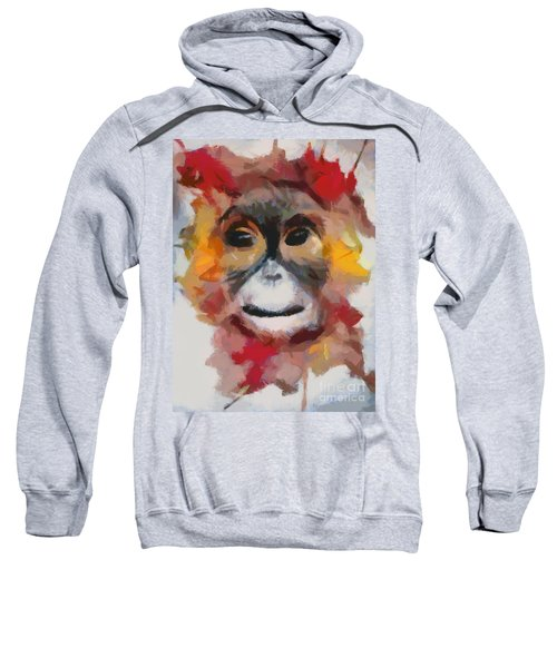 Monkey Splat Sweatshirt