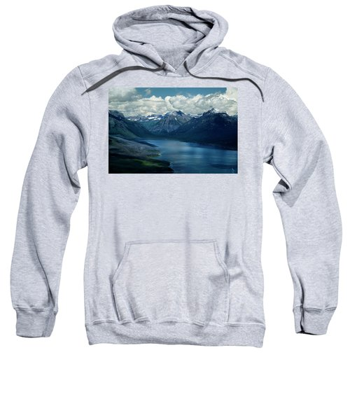 Montana Mountain Vista And Lake Sweatshirt
