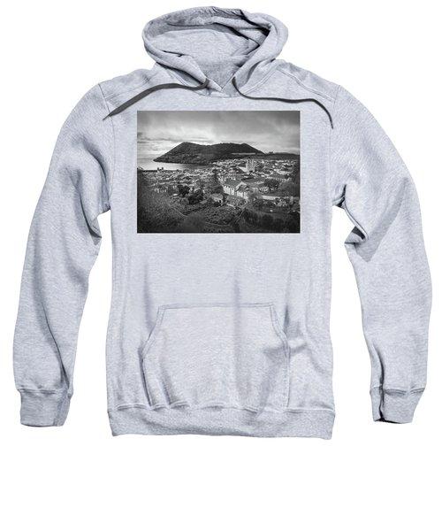 Monte Brasil And Angra Do Heroismo, Terceira Island, Azores Sweatshirt