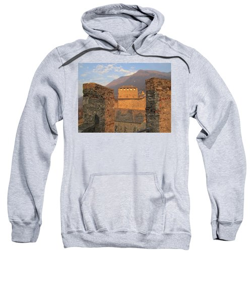 Montebello - Bellinzona, Switzerland Sweatshirt by Travel Pics