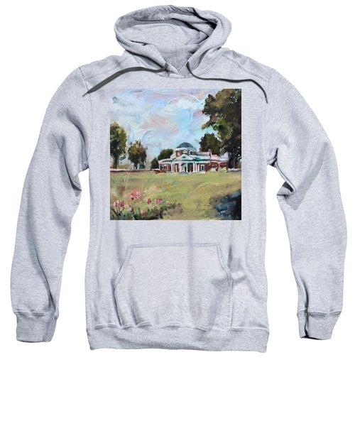 Monticello Charlottesville Virginia Sweatshirt