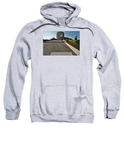 Sweatshirt featuring the photograph Montsec American Monument by Travel Pics