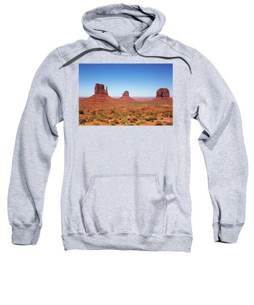 Monument Valley Utah The Mittens Sweatshirt