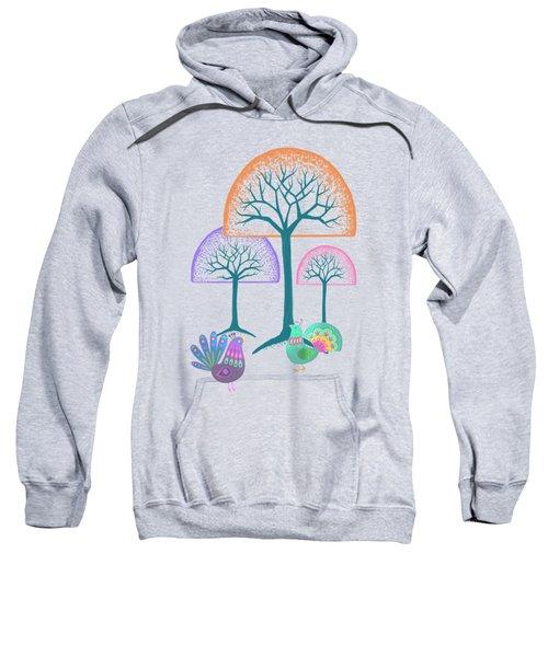 Moon Bird Forest Sweatshirt by Little Bunny Sunshine