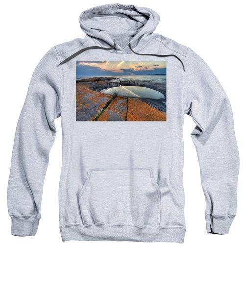 Moon Flower  Sweatshirt