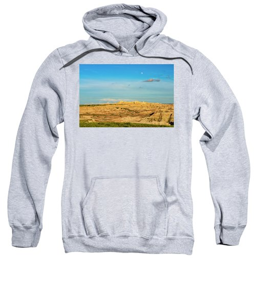 Moon Over The Badlands Sweatshirt