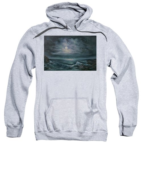 Moonlit Seascape Sweatshirt