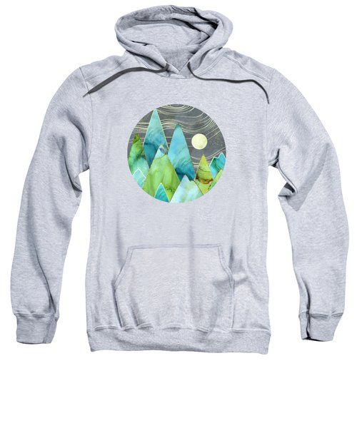 Moonlit Mountains Sweatshirt