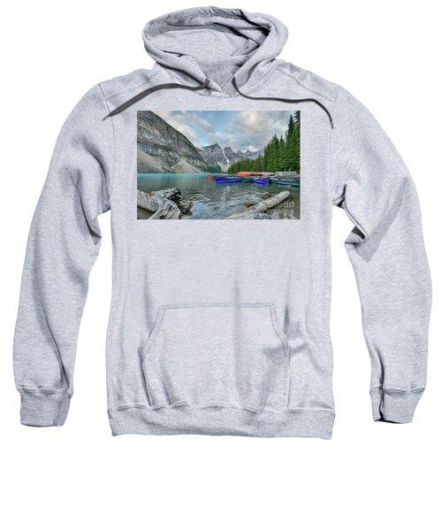 Moraine Logs And Canoes Sweatshirt