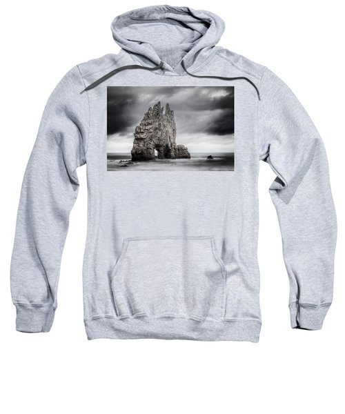 Sweatshirt featuring the photograph Mordor by Evgeni Dinev