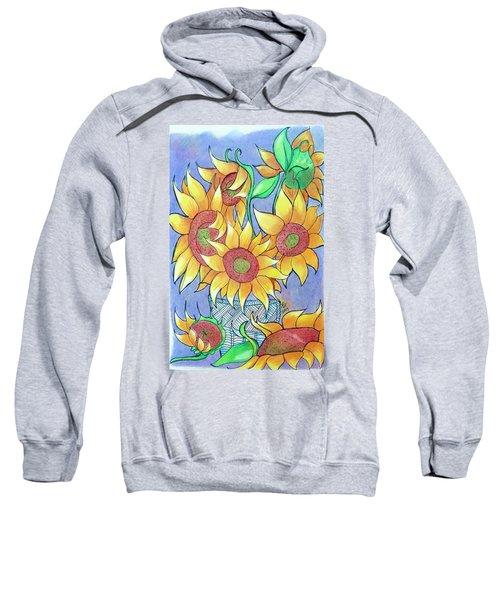 More Sunflowers Sweatshirt