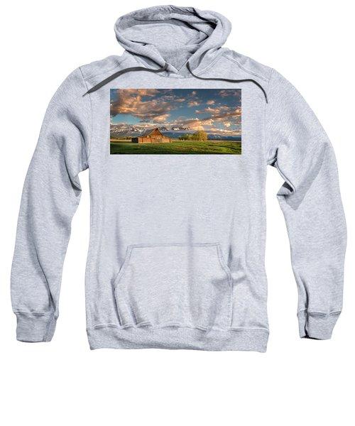 Mormon Row At Sunrise Sweatshirt