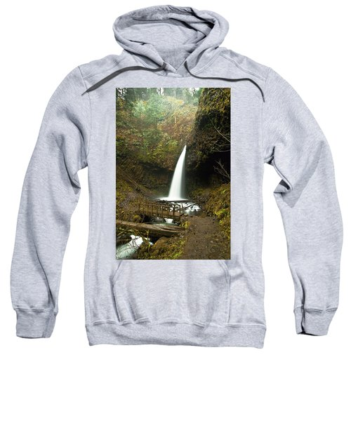Morning At The Waterfall Sweatshirt