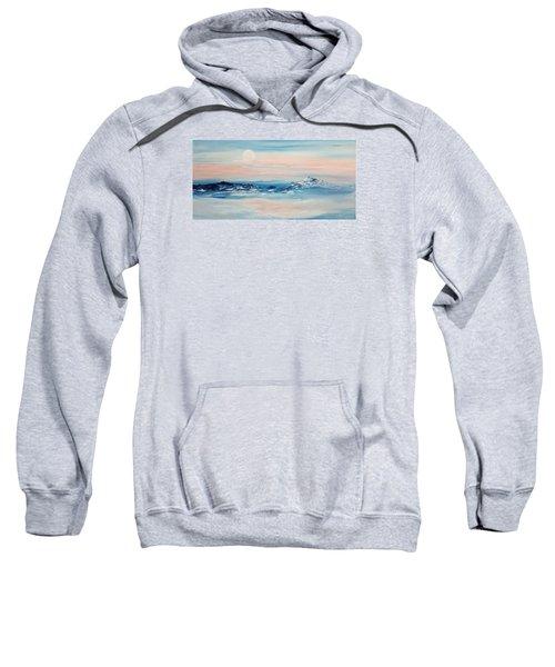 Morning Full Moon Sweatshirt