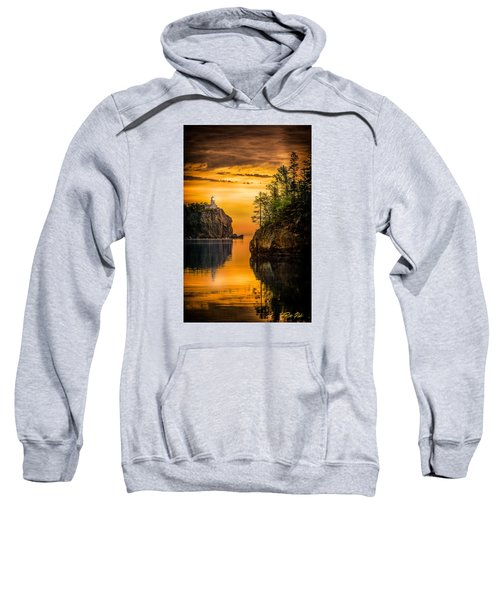 Sweatshirt featuring the photograph Morning Glow Against The Light by Rikk Flohr