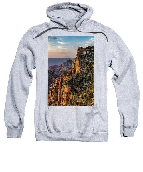 Morning Glow On Angels Window Sweatshirt