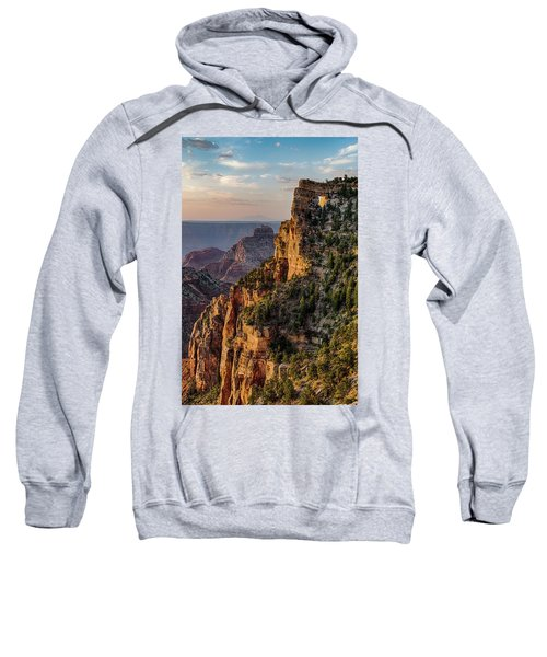 Morning Glow On Angels Window Sweatshirt