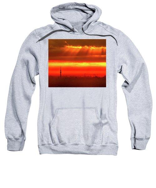 Morning Glow Sweatshirt by Tatsuya Atarashi