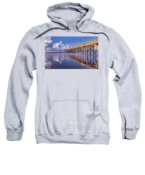 Morning Gold - Isle Of Palms, Sc Sweatshirt