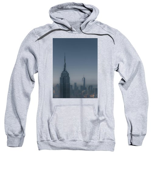 Morning In New York Sweatshirt by Chris Fletcher